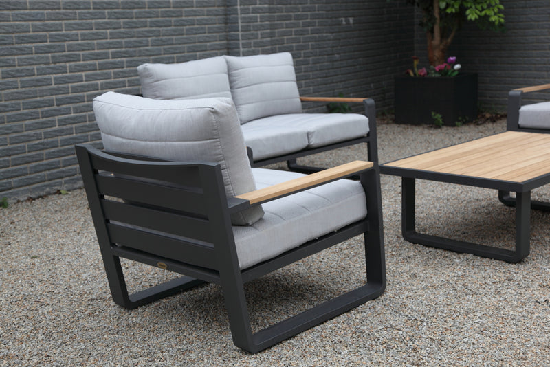 PORTOFINO Lounge 4PC Kit/Set LOUNGE OSMEN - OSMEN OUTDOOR FURNITURE-Sydney Metro Free Delivery
