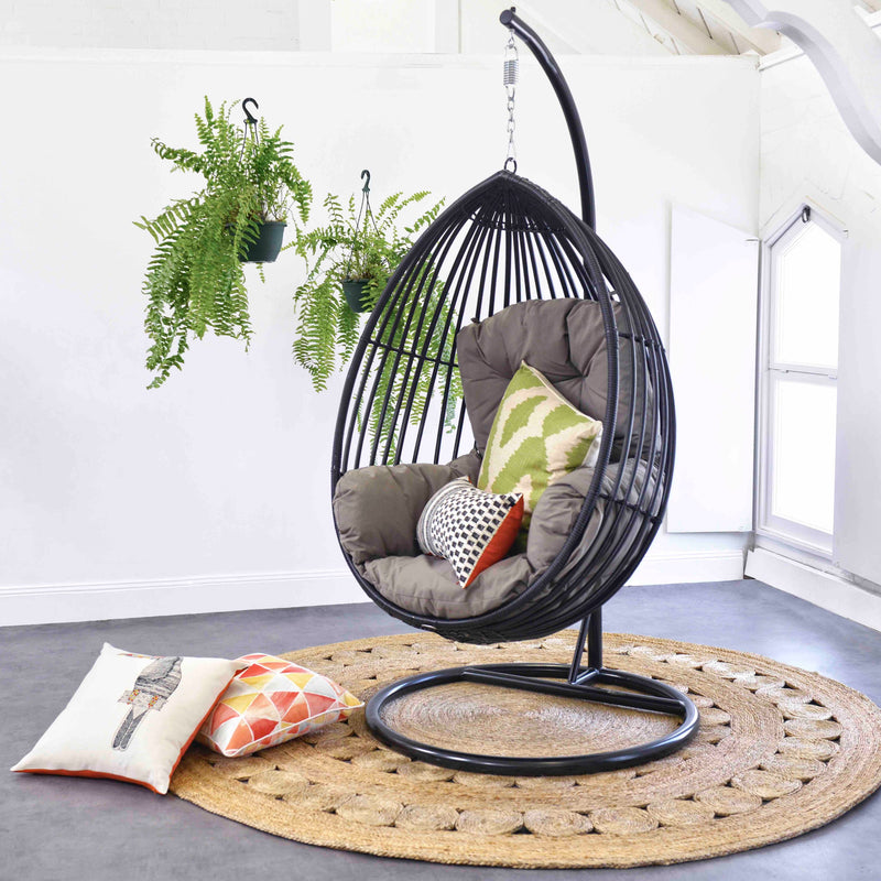 Cocoon Premium Solaris Wicker Hanging Egg Chair Osmen Outdoor Furniture