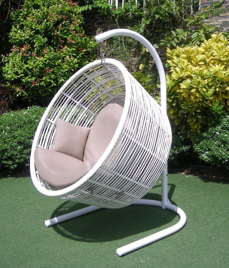 Orb Hanging Chair HANGING EGG ATC - OSMEN OUTDOOR FURNITURE-Sydney Metro Free Delivery