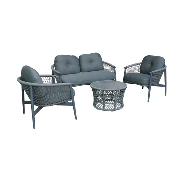 JAMAICA Lounge 4PC Kit/Set LOUNGE OSMEN - OSMEN OUTDOOR FURNITURE-Sydney Metro Free Delivery