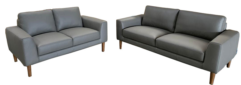 JAMES 3+2 Seater Leather Sofa Kit