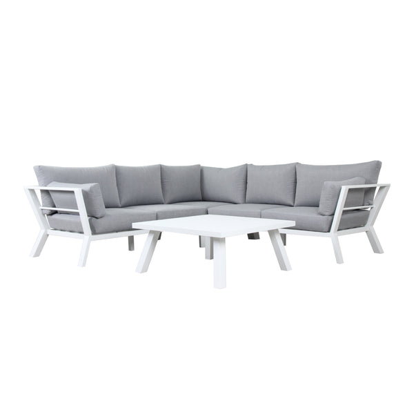 NAPOLI CORNER SETTING LOUNGE GOOD LIVING GLOBAL - OSMEN OUTDOOR FURNITURE-Sydney Metro Free Delivery