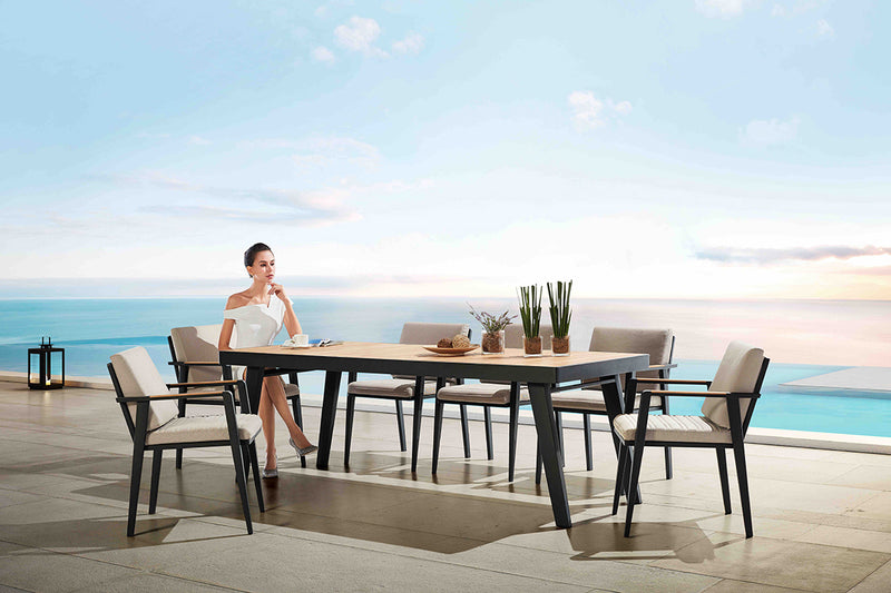 LIMONE Dining 7PC Kit/Set DINING 0 - OSMEN OUTDOOR FURNITURE-Sydney Metro Free Delivery