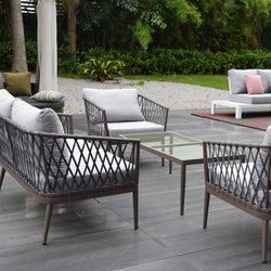 SEATTLE Lounge 4PC Kit/Set LOUNGE Grand Garden - OSMEN OUTDOOR FURNITURE-Sydney Metro Free Delivery