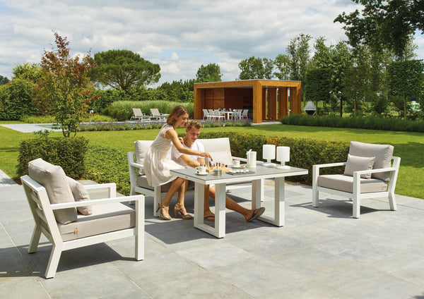 MADRID Lounge 4PC Kit/Set LOUNGE 0 - OSMEN OUTDOOR FURNITURE-Sydney Metro Free Delivery