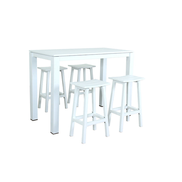 MATZO 5PCE BAR SETTING DINING GOOD LIVING GLOBAL - OSMEN OUTDOOR FURNITURE-Sydney Metro Free Delivery