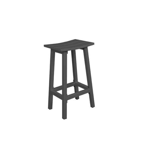 MATZO BAR STOOL - GUNMETAL - OSMEN OUTDOOR FURNITURE-Sydney Metro Free Delivery