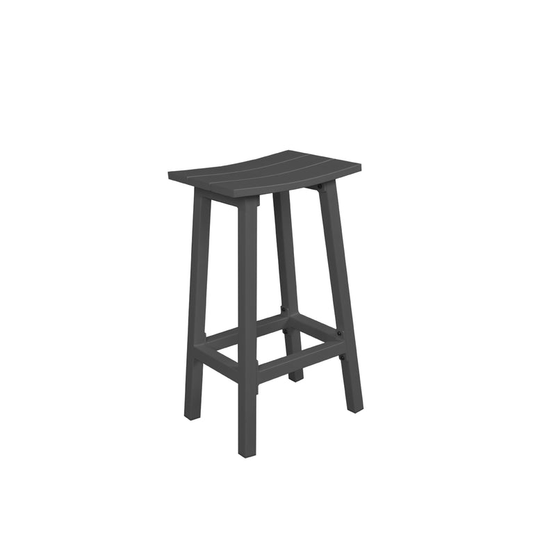 MATZO BAR STOOL - GUNMETAL DINING GOOD LIVING GLOBAL - OSMEN OUTDOOR FURNITURE-Sydney Metro Free Delivery