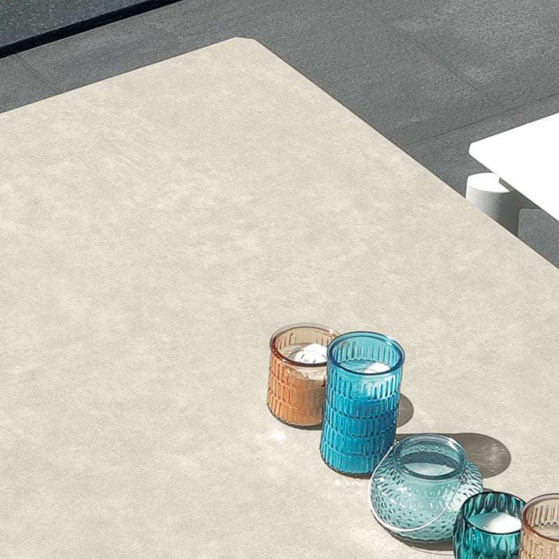 Milo Extension Table (200/260/320) - Ceramic (Or) Aluminium Top