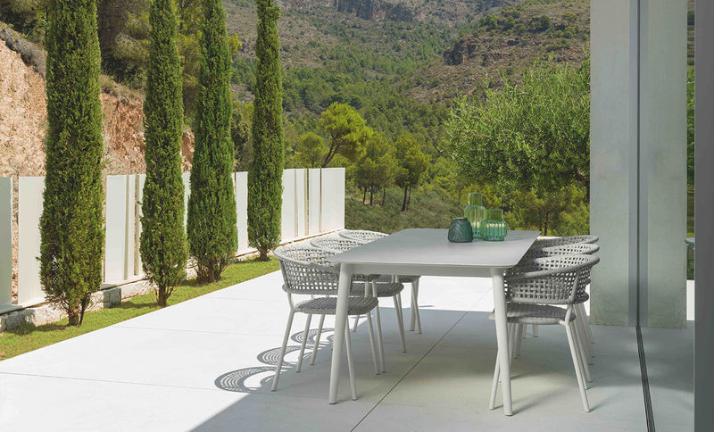 MOON (240-300) Italian Ceramic Top® extension dining table - All weather® DINING 0 - OSMEN OUTDOOR FURNITURE-Sydney Metro Free Delivery