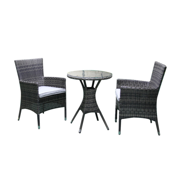 Milford 3PC Round Chat Setting Balcony VIVIN - OSMEN OUTDOOR FURNITURE-Sydney Metro Free Delivery