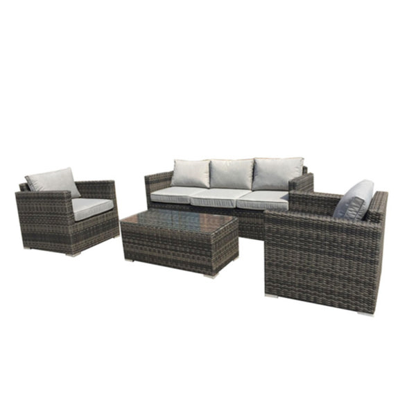 Milford 4PC Lounge Setting LOUNGE VIVIN - OSMEN OUTDOOR FURNITURE-Sydney Metro Free Delivery