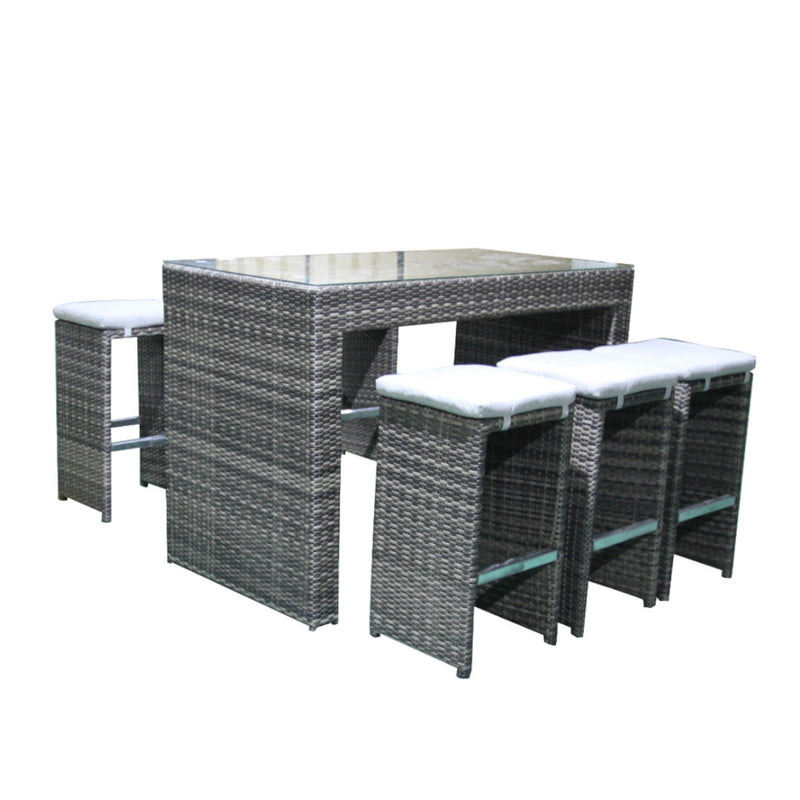 Milford 7PC Bar Setting Balcony VIVIN - OSMEN OUTDOOR FURNITURE-Sydney Metro Free Delivery