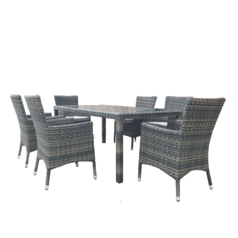 Milford 7PC Dining Setting DINING VIVIN - OSMEN OUTDOOR FURNITURE-Sydney Metro Free Delivery
