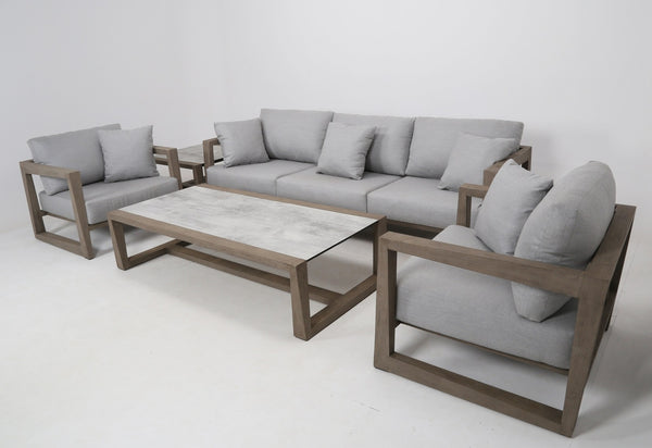 SKAAL Contemporary style (3.5-seater version) - All weather® LOUNGE Les Jardins - OSMEN OUTDOOR FURNITURE-Sydney Metro Free Delivery