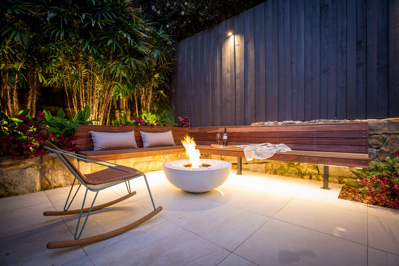 MIX 850 Firepit HEATINGANDBBQ Ecosmart - OSMEN OUTDOOR FURNITURE-Sydney Metro Free Delivery