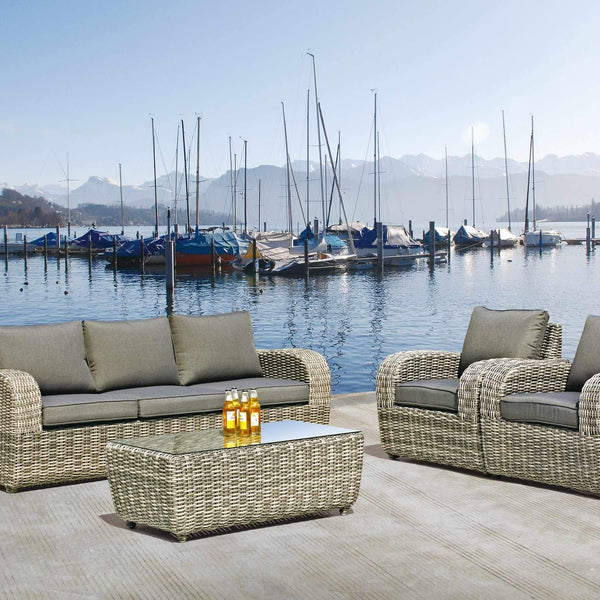 BROOKLYN Lounge 4PC Kit/Set LOUNGE 0 - OSMEN OUTDOOR FURNITURE-Sydney Metro Free Delivery