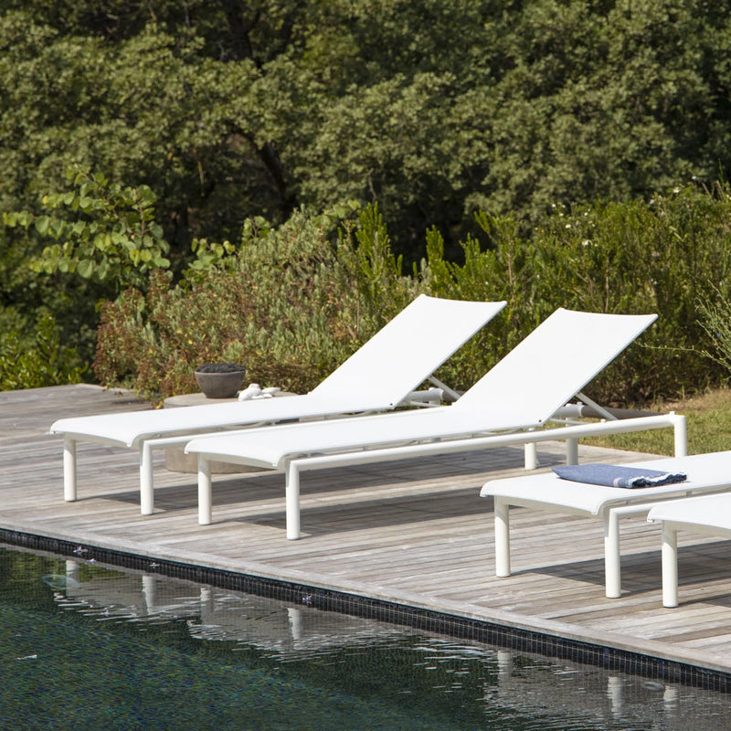Ballena Sun Lounger SUN LOUNGE Les Jardins - OSMEN OUTDOOR FURNITURE-Sydney Metro Free Delivery