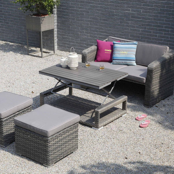 LAVAL Lounge 4PC Kit/Set LOUNGE Nest - OSMEN OUTDOOR FURNITURE-Sydney Metro Free Delivery