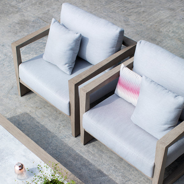 SKAAL Lounge 4PC Kit/Set  (2.5-seater version) LOUNGE Les Jardins - OSMEN OUTDOOR FURNITURE-Sydney Metro Free Delivery