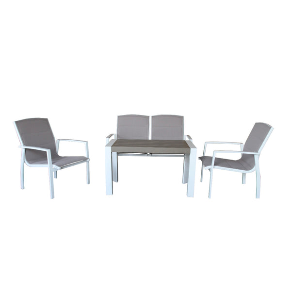 OXFORD 4PC Lounge Setting LOUNGE VIVIN - OSMEN OUTDOOR FURNITURE-Sydney Metro Free Delivery
