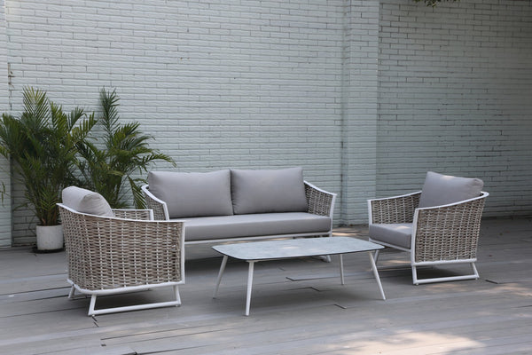 Orando Luxury Olefin® Fabric 4pc lounge setting - All Weather®