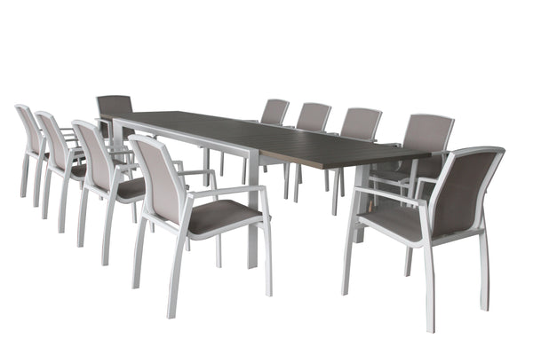 ISERNIA 11PC Extension Dining Set