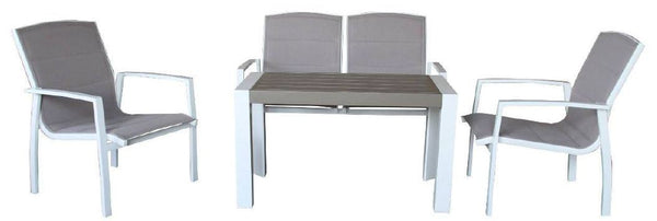 ISERNIA 4PC Lounge Setting
