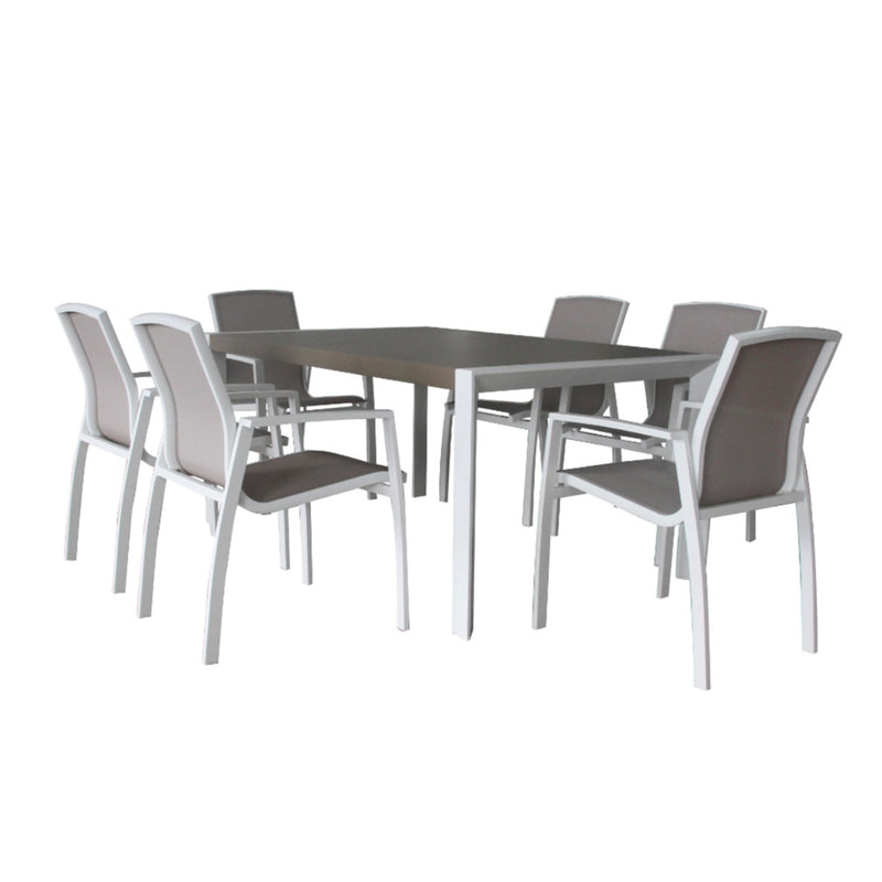 Oxford 7PC Dining Setting DINING VIVIN - OSMEN OUTDOOR FURNITURE-Sydney Metro Free Delivery