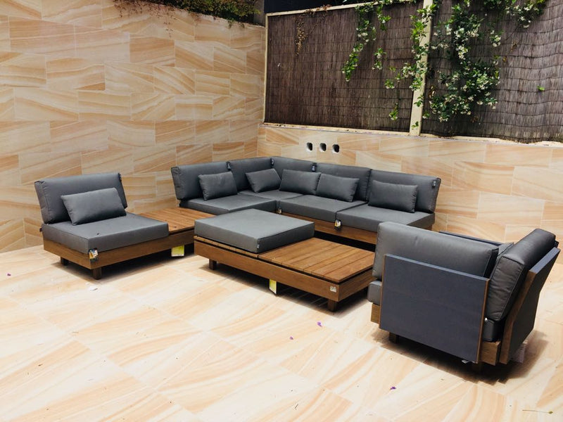 Module-X Premium BeeWett® fabric F1 Lounge setting - All weather LOUNGE Applebee - OSMEN OUTDOOR FURNITURE-Sydney Metro Free Delivery