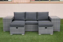 PANGEE 5pc Sofa Set