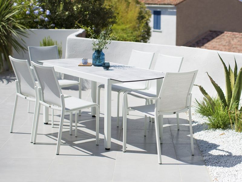ROMA Premium HPL® top small extension (145 -185) Table - All weather®
