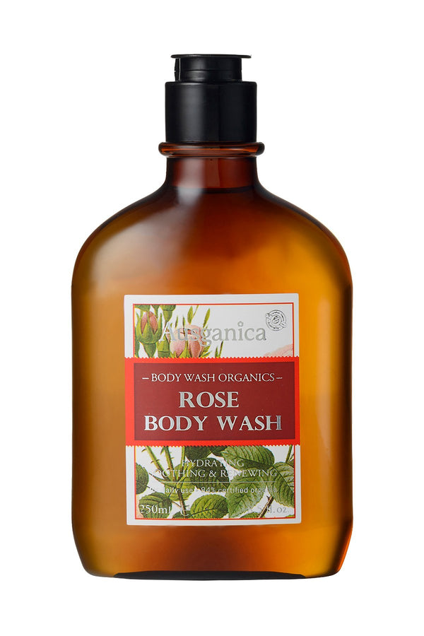 Rose Body Wash OSMEN GIFT Ausganica - OSMEN OUTDOOR FURNITURE-Sydney Metro Free Delivery