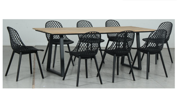 Rose 9pc Dining Set