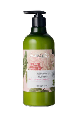 Rose Geranium Nourishing Hand & Body Lotion OSMEN GIFT Ausganica - OSMEN OUTDOOR FURNITURE-Sydney Metro Free Delivery