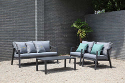 Rosehill Lounge 4PC Kit/Set LOUNGE OSMEN - OSMEN OUTDOOR FURNITURE-Sydney Metro Free Delivery