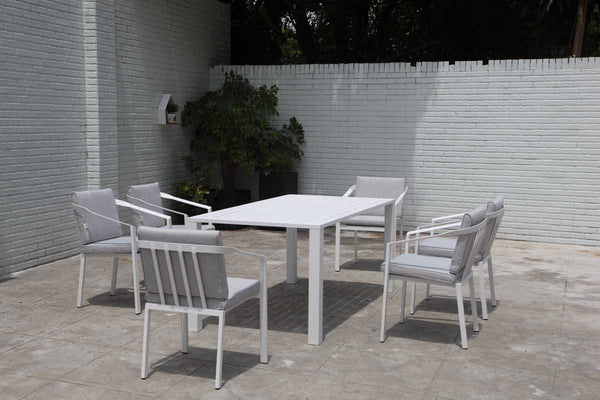 Rosehill Dining 7PC Kit/Set DINING OSMEN - OSMEN OUTDOOR FURNITURE-Sydney Metro Free Delivery