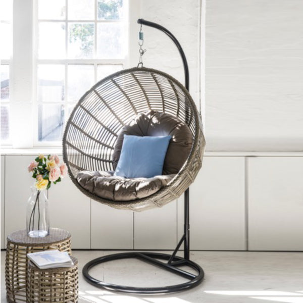 SPIDER Hanging Chair HANGING EGG Nest - OSMEN OUTDOOR FURNITURE-Sydney Metro Free Delivery