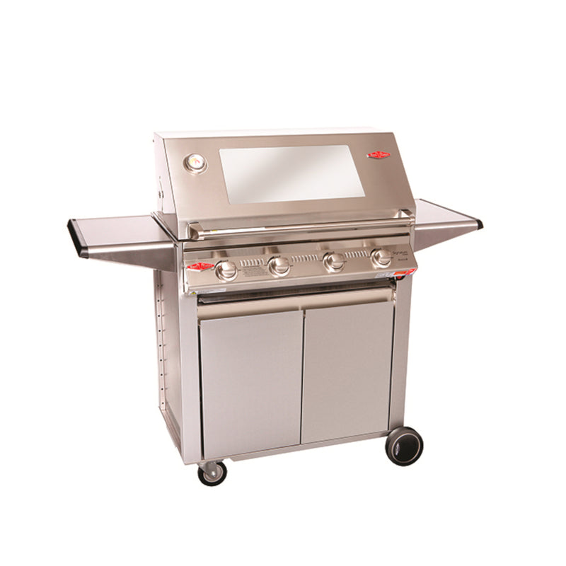 SIGNATURE 3000S 4 BURNER MOBILE BARBECUE HEATINGANDBBQ Beefeater - OSMEN OUTDOOR FURNITURE-Sydney Metro Free Delivery