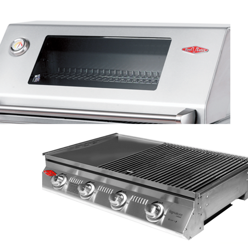 SIGNATURE 3000SS 4 BURNER BUILT-IN HEATINGANDBBQ Beefeater - OSMEN OUTDOOR FURNITURE-Sydney Metro Free Delivery