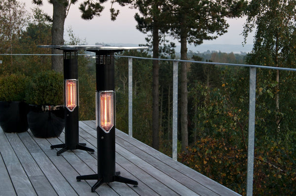 OSMEN SWEETHEART Outdoor/Indoor Heater - Bar table height with ISO table top HEATINGANDBBQ MENSAHEATING - OSMEN OUTDOOR FURNITURE-Sydney Metro Free Delivery
