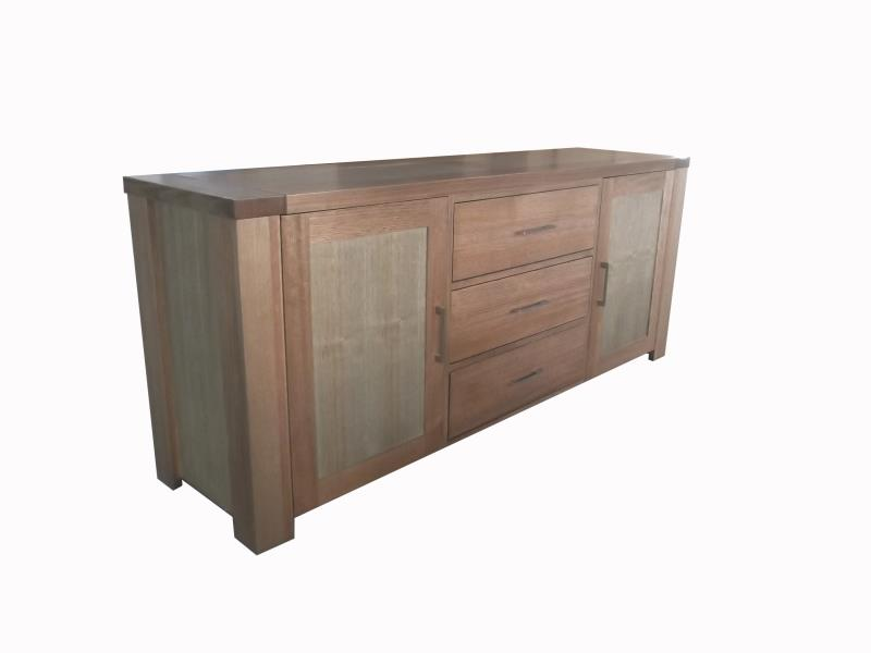 TIM 195cm 2 Door 3 Drawers Buffet