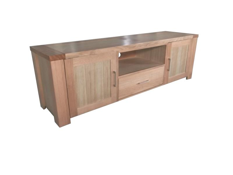TIM 195cm 2 Doors 1 Drawer TV Unit