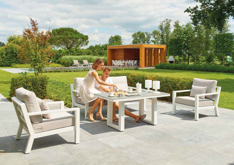 MADRID 4PC  LOUNGE LOUNGE Talenti - OSMEN OUTDOOR FURNITURE-Sydney Metro Free Delivery