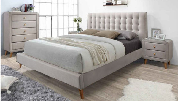 MKII Bed-Oat White