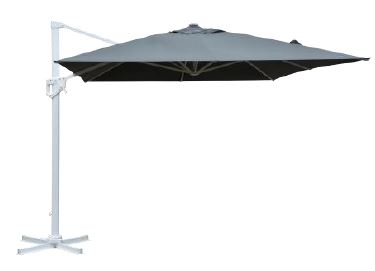 ISCHIA Outdoor Cantilever Umbrella with Base