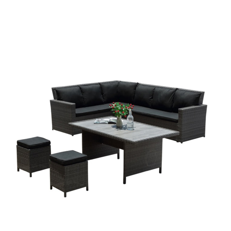 VIRGINIA Modular 6PC Kit/Set LOUNGE JOHNSON - OSMEN OUTDOOR FURNITURE-Sydney Metro Free Delivery