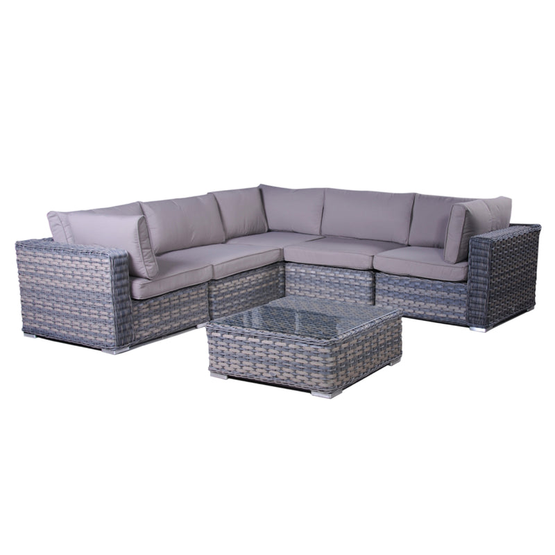 VICTORIA Modular 6PC Kit/Set LOUNGE Nest - OSMEN OUTDOOR FURNITURE-Sydney Metro Free Delivery