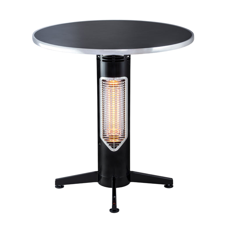 OSMEN SWEETHEART Outdoor/Indoor Heater - Balcony table height with stone table top HEATINGANDBBQ MENSAHEATING - OSMEN OUTDOOR FURNITURE-Sydney Metro Free Delivery