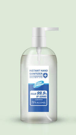 Anti Bacterial Hand Sanitiser 500ml  OSMEN OUTDOOR FURNITURE - OSMEN OUTDOOR FURNITURE-Sydney Metro Free Delivery